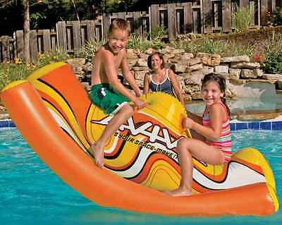 NEW Water Teeter-Totter See Saw Inflatable Pool Toy Swimming Kids Float Swim Fun