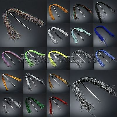 150pcs Crystal Flash Fly Tying Material Holographic Fishing Lure Tying Making