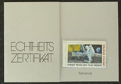 s1643) USA MiNr 990 Fehldruck ** MNH red Patch omitted from astronauts shoulder