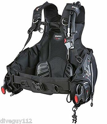 Mares Quantum Dive Scuba Diving Men's BCD Buoyancy Compensator LG