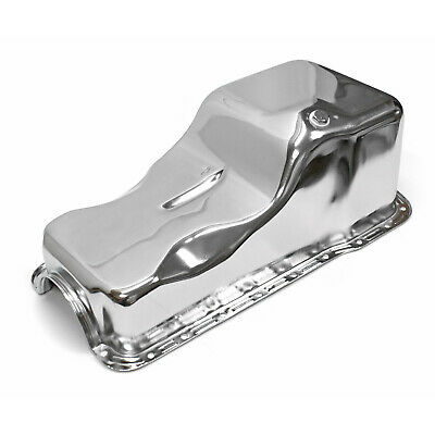 fits Ford 351W Windsor Front Sump Chrome Oil Pan