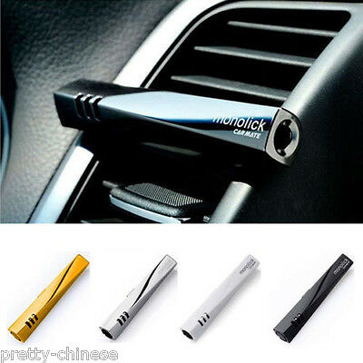 Luxury Car Air Perfume Conditioning Vent Clip Freshener Solid Fragrance Scent