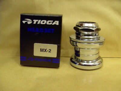 "Nos New Bmx Tioga Mx 2 Ii 1"" Inch Headset Old School Boxed"