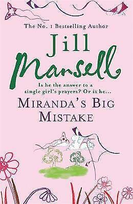 Miranda's Big Mistake by Jill Mansell, Book, New (Paperback)