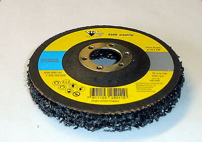 115mm Clean & Strip wheel Angle Grinder Poly Disc Paint Rust Removal for Metal