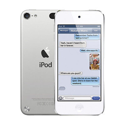 Apple iPod touch 5th Generation Silver / White (16GB)