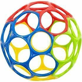 "Oball 4"" Oball Multi Coloured Baby Toy"