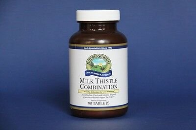 Nature's Sunshine Milk Thistle Combination Digestive System Support (90 Tablets)