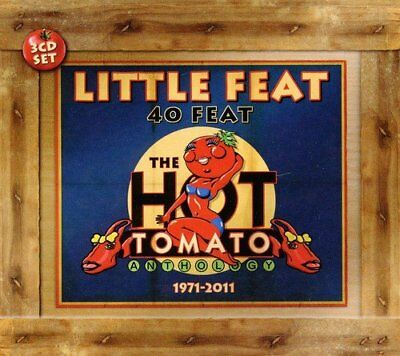 Little Feat - 40 Feat: The Hot Tomato Anthology [CD]