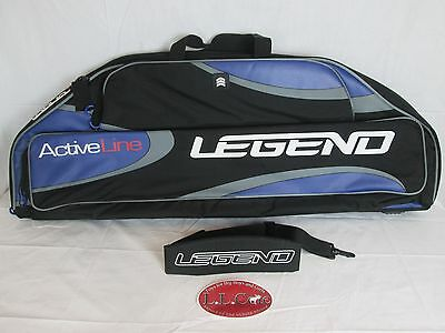 Greatree Active Line Legend 40in. Padded compound bow case soft black blue gray