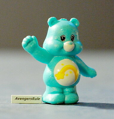 Care Bears Mini Figures Wave 1 Wish Bear One Hand Up