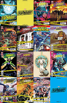 Avengers Standoff Assault on Pleasant Hill Complete Set Marvel 9.4 NM Tie-Ins