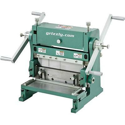 """T26472Z Grizzly 12"""" 3-in-1 Sheet Metal Machine"""