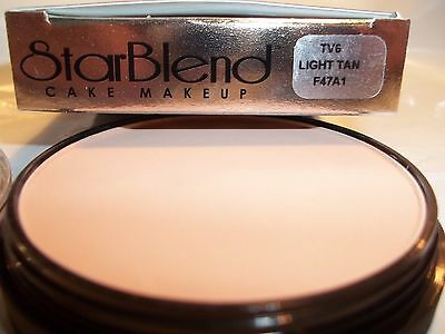 Mehron Star Blend Cake Pancake Water Base Stage Makeup Tan Shades Professional