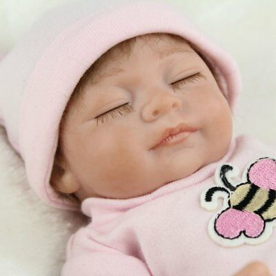 Hot 10'' NEW Reborn Baby Doll Girl Lifelike Beautiful Realistic Newborn Handmade
