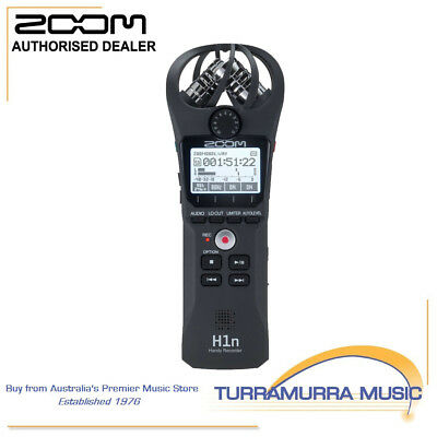 Zoom H1N Handy Portable Field Media Recorder