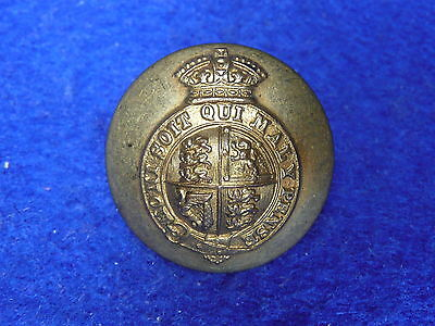 HM Royal Household (King's Crown) Button 24mm Jennens