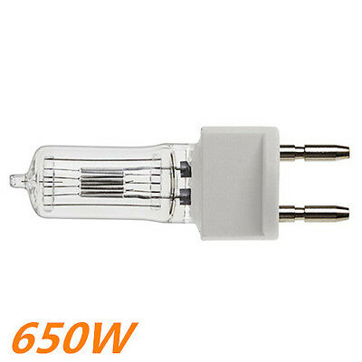 Pro Halogen Tungsten Bulb for Fresnel Continuous Video  Light  650w  220v