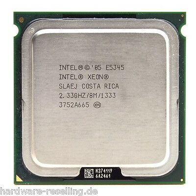 Intel Xeon Quad Core E5345 CPU 4x 2,33GHz Socket 771