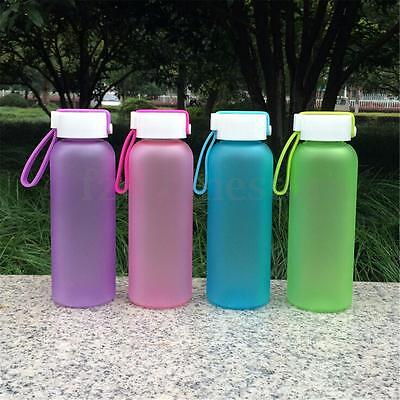 400ML Kids Outdoor Sports Camping Running Travel Cycling Drink Water Bottle