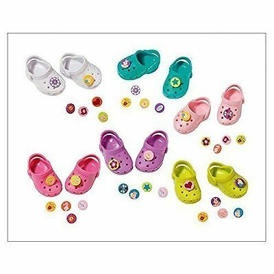 New Zapf Creation Baby Born Customisable Shoes With Pins Doll Accessories