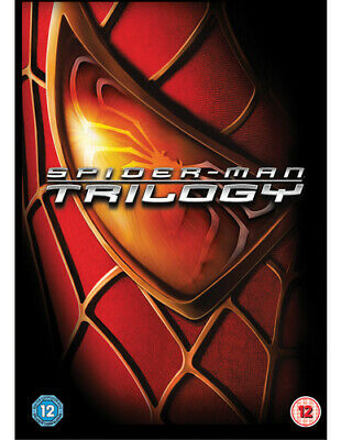 Spider-Man Trilogy DVD (2012) Tobey Maguire ***NEW***