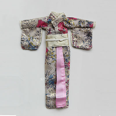 1/6 Scale Japanese Kimono Model For Dolls Figures Traditional Clothing Costume