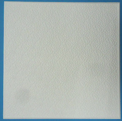 Polystyrene Ceiling Tiles  - 50cm x 50cm  - 10mm Thickness - Pattern 'Rustic'