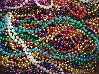 173 Pc Multi Color Mardi Gras Beads Necklaces Party Favors Big Lot