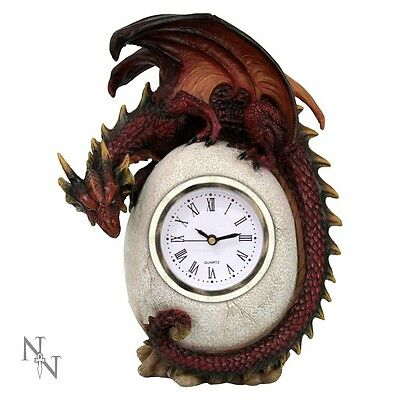 Nemesis Now Timeless Guardian Clock Dragon Egg Gothic Fantasy Ornament