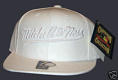 BIG Mitchell & Ness Cap Brother Hood White size 7 New