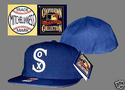 New Mitchell & Ness Chicago White Sox Cap fitted 7 1/8