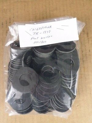Lot of 100 Caterpillar 7K-1977 Flat Washers