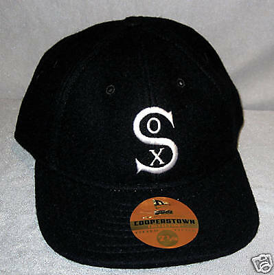 New Era Cap Cooperstown Collection White Sox wool 7 1/4