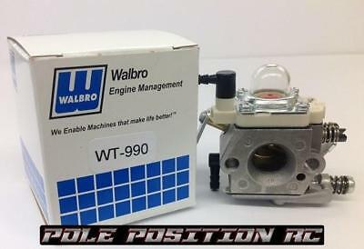 WT-990 Carburetor with Bearing Shaft Mod Losi Rovan Hpi KM 30N 5B 5SC 5T 5ive X2
