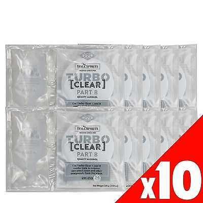 Turbo Clear Still Spirits 10 Pack Home Brew