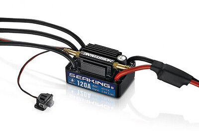 Hobbywing Seaking V3 120A Waterproof Brushless ESC Speed Controller For RC Boat