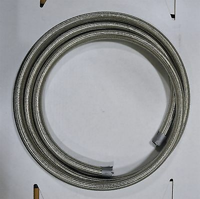 Fragola 710010 Series 3000 Stainless Race Hose -10 AN 10 Foot Pre-cut Lengths