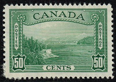 Canada 1938 50c. Vancouver Harbour, MH (SG#366)