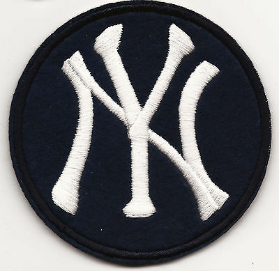 New York Yankees Embroidered Patch Iron-on 5.4x6.4cm Art Good Luck Magic
