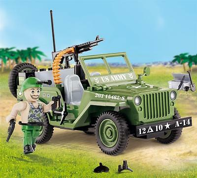 Cobi 24090 Small Army Willys MB with Machine Gun [Spielzeug]