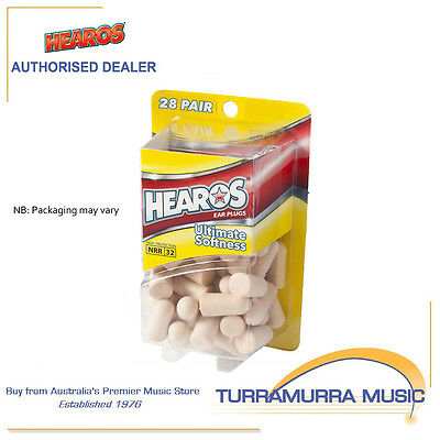 Hearos HS5225 Ultimate Softness Ear Plug Pack - 28 Pairs NRR 32dB