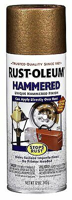 210849 Hammered Metal Finish Spray, Copper, 12-Ounce by Rust-Oleum BRAND NEW AOI