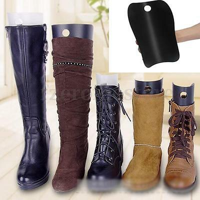 2x Plastic Boots Long Shoe Tree Stretcher Shaper Stand Holder Support 3 Size