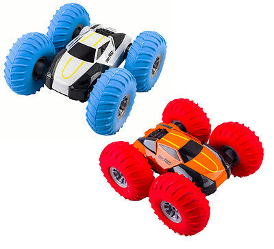 deAO RCA Turbo 360 Twister Remote Controlled Stunt Car Large Inflatable Tyres