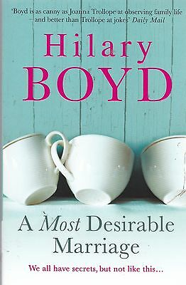 A Most Desirable Marriage by Hilary Boyd, Book, New (Paperback)