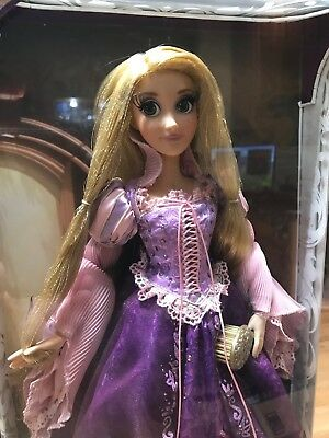 "Disney Store Limited Edition Purple Rapunzel Doll 17"" LE Tangled Princess"
