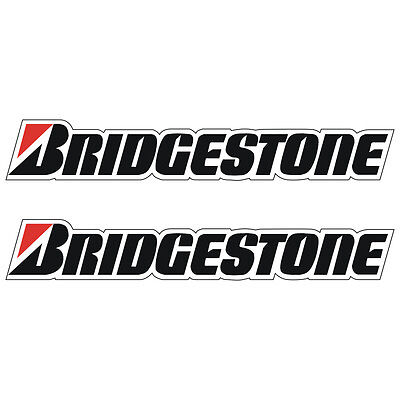 Stickers plastifiés BRIDGESTONE - 32cm x 5cm