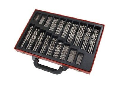 Neilsen 170pc HSS Twist Drill Bit Set in Metal Case Sizes 1-10mm Tool Set CT1281