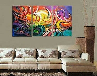 Hand-painted Modern Art Abstract Oil Painting On Canvas (no framed)